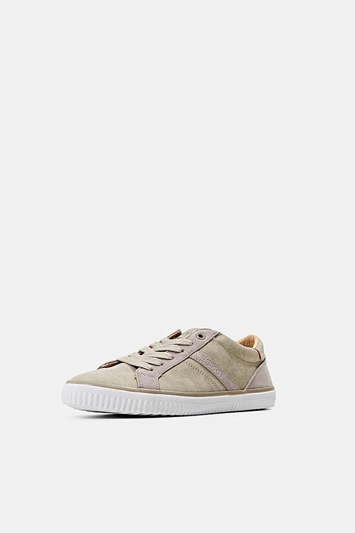 Sneakers van imitatieleer, TAUPE, detail image number 2