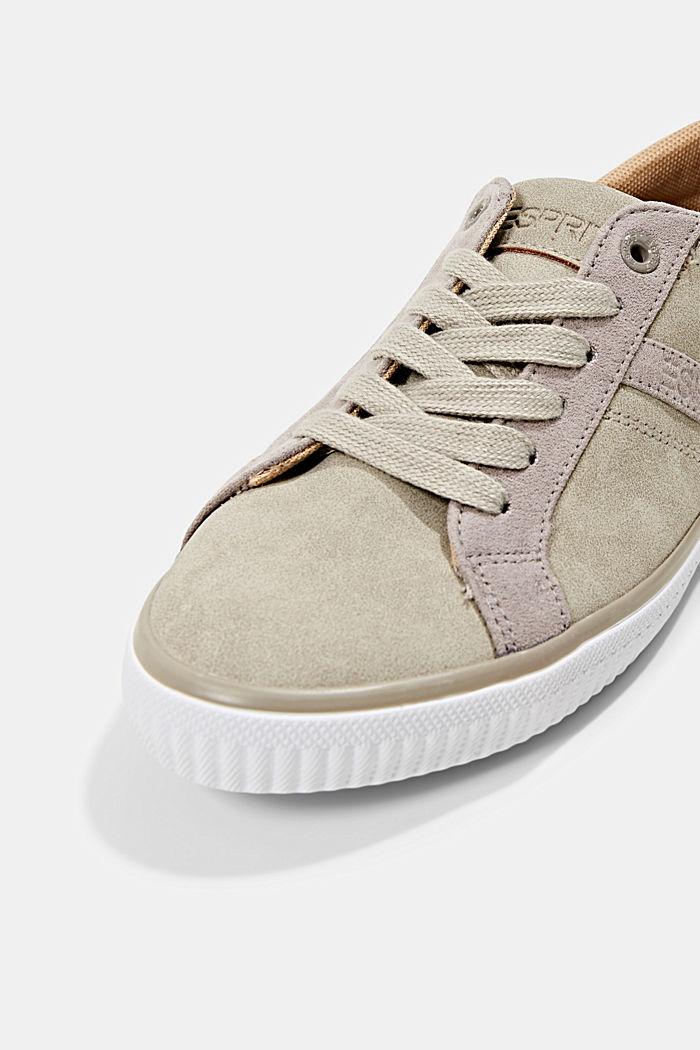 Sneakers van imitatieleer, TAUPE, detail image number 4