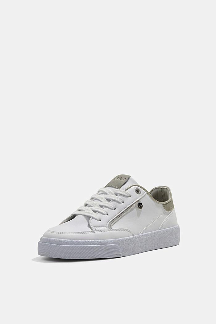 Sneakers van imitatieleer, GREY, detail image number 2