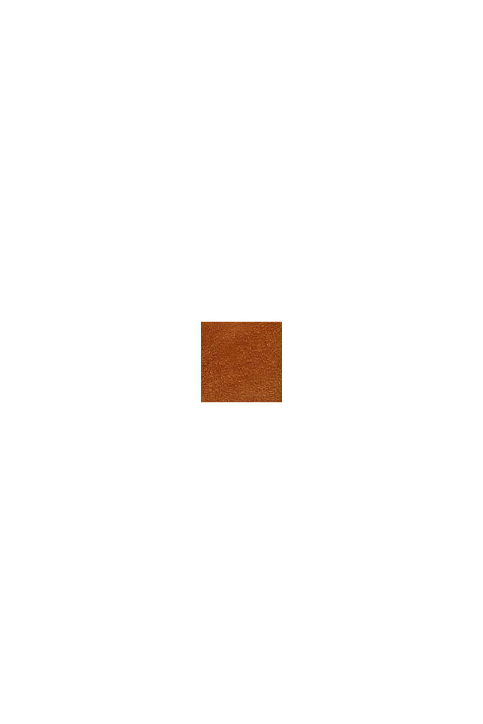 Af ruskind: Loafers med monogram, TOFFEE, swatch