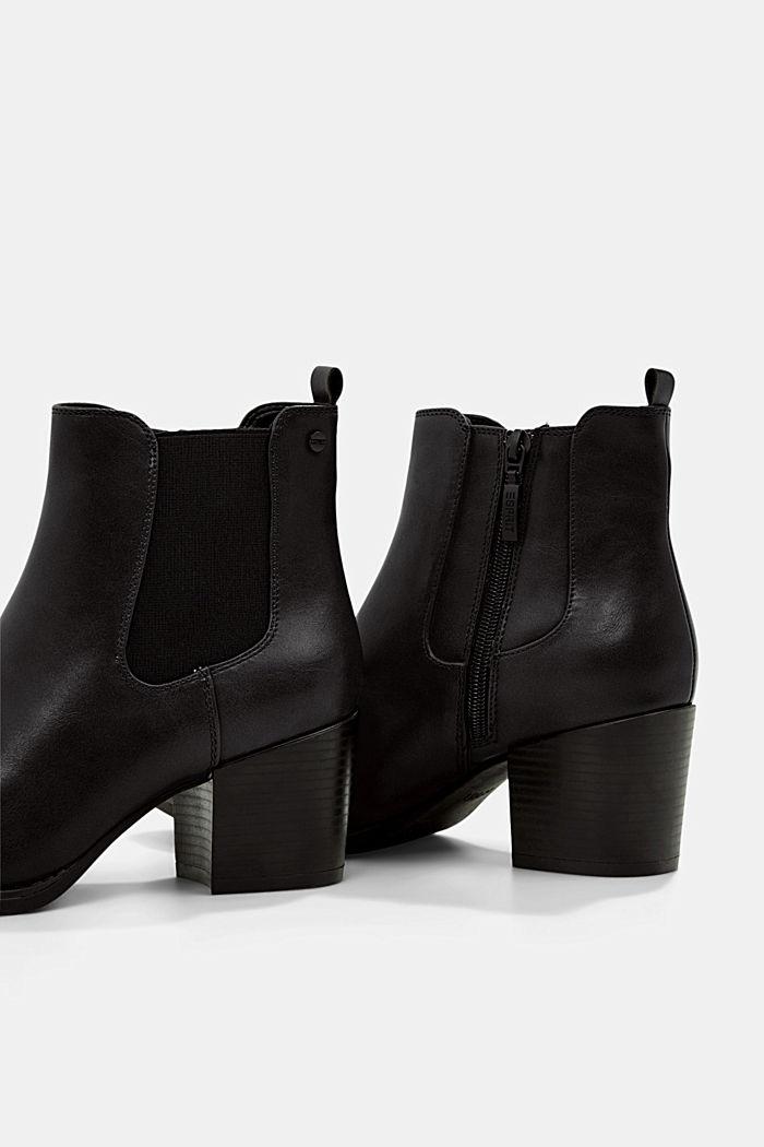 Vegan: les bottes en similicuir, BLACK, detail image number 5