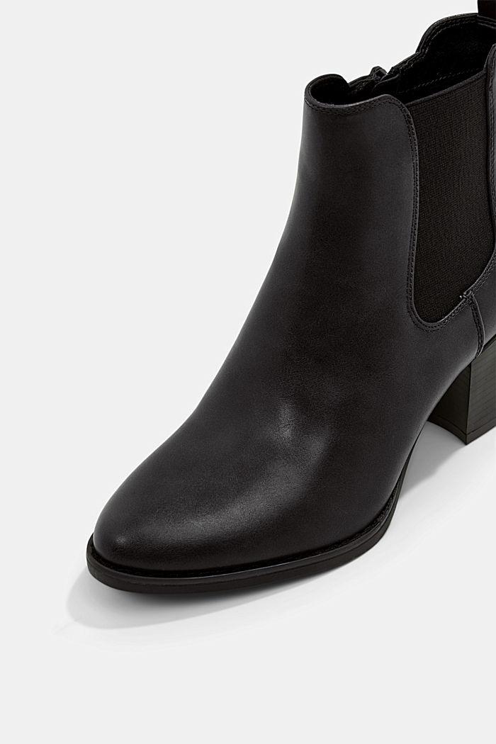 Vegan: les bottes en similicuir, BLACK, detail image number 4