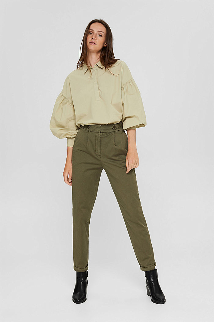 EarthColors® chinos with organic cotton