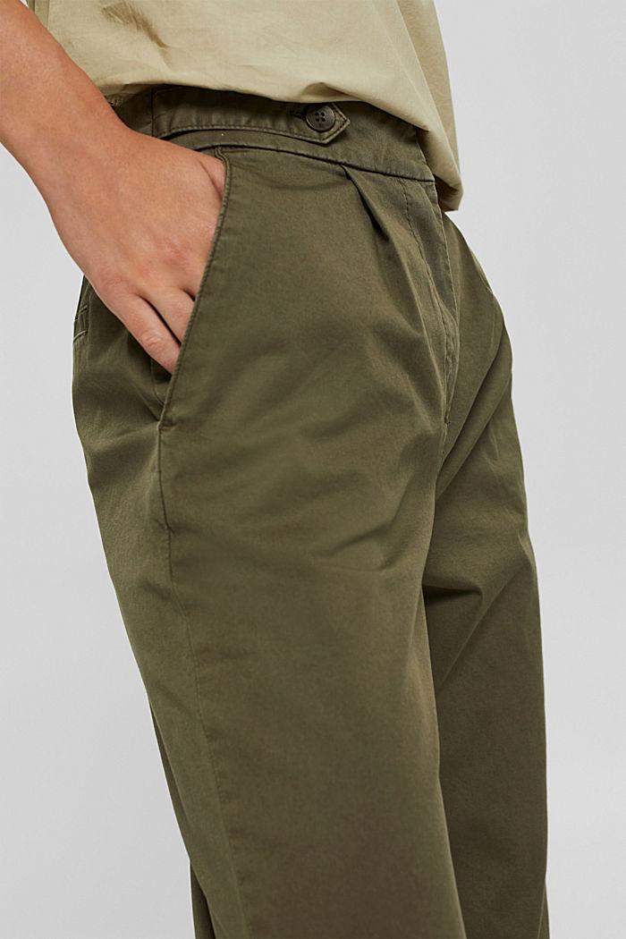 Pantalones chinos EarthColors® con algodón ecológico, DARK KHAKI, detail image number 2