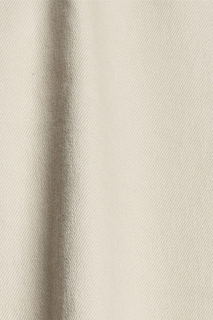 Jean droit à taille haute en coton biologique, ICE, detail image number 4