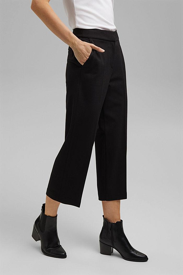 SOFT PUNTO mix + match kalhoty, BLACK, detail image number 0