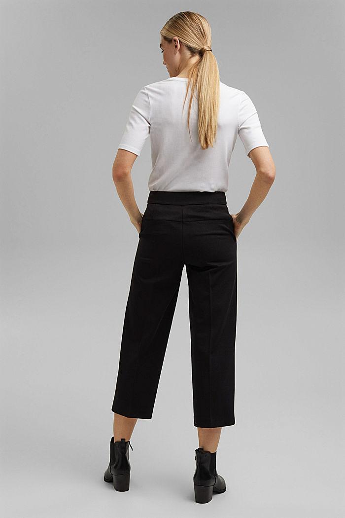 SOFT PUNTO mix + match kalhoty, BLACK, detail image number 3