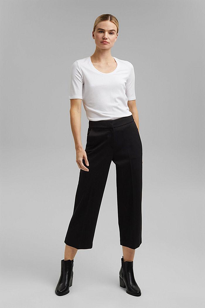 SOFT PUNTO mix + match kalhoty, BLACK, detail image number 1