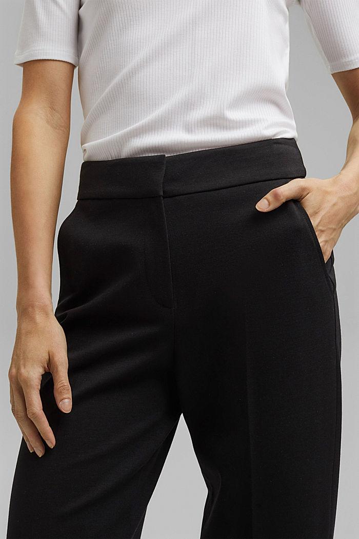 SOFT PUNTO mix + match kalhoty, BLACK, detail image number 2