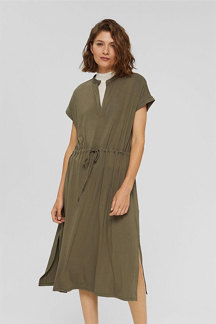 Jersey-Kleid aus LENZING™ ECOVERO™