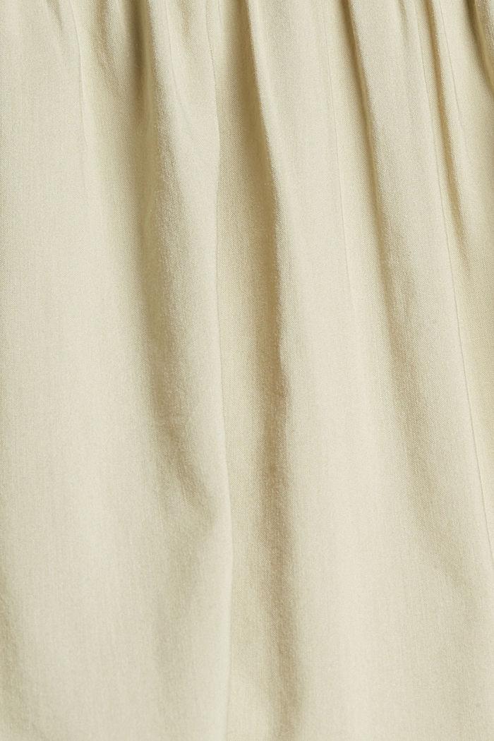 Kleid mit halblangen Ärmeln aus Baumwoll-Mix, DUSTY GREEN, detail image number 4