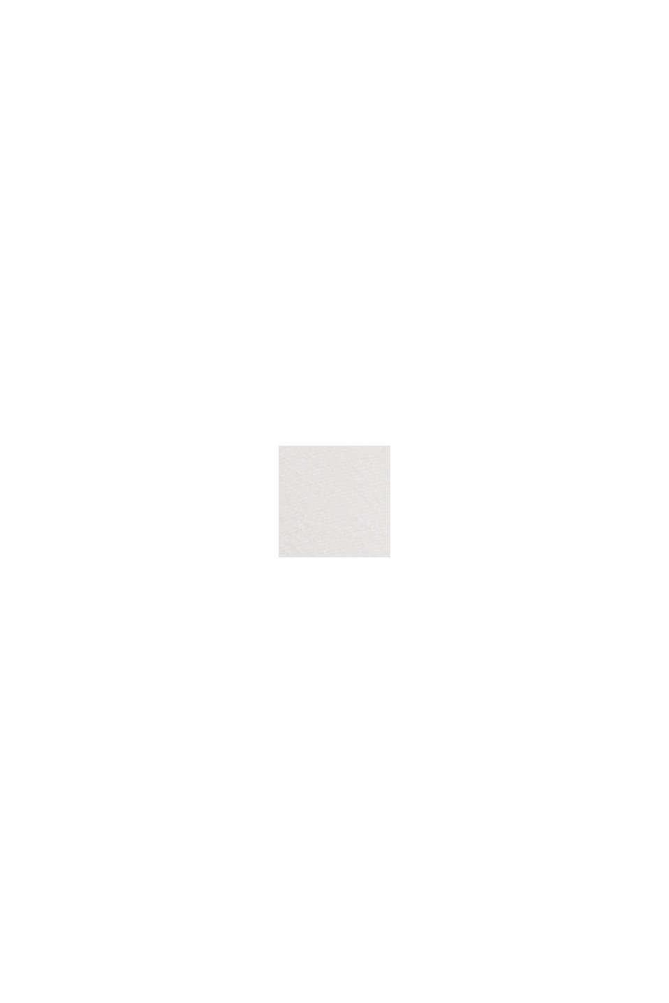 Längere Tunika-Bluse mit LENZING™ ECOVERO™, OFF WHITE, swatch
