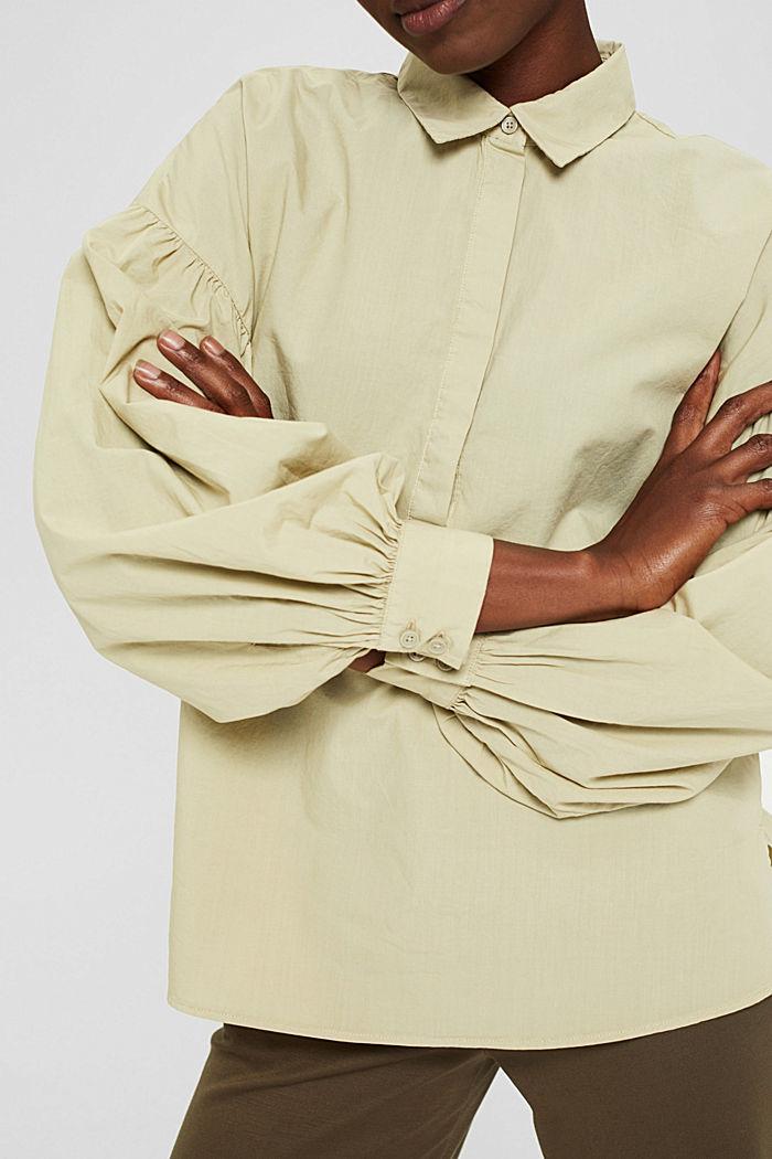 EarthColors® blouse van 100% katoen