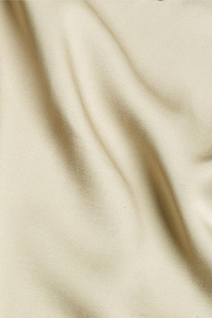 Robe chemisier en fibres LENZING™ ECOVERO™, DUSTY GREEN, detail image number 4