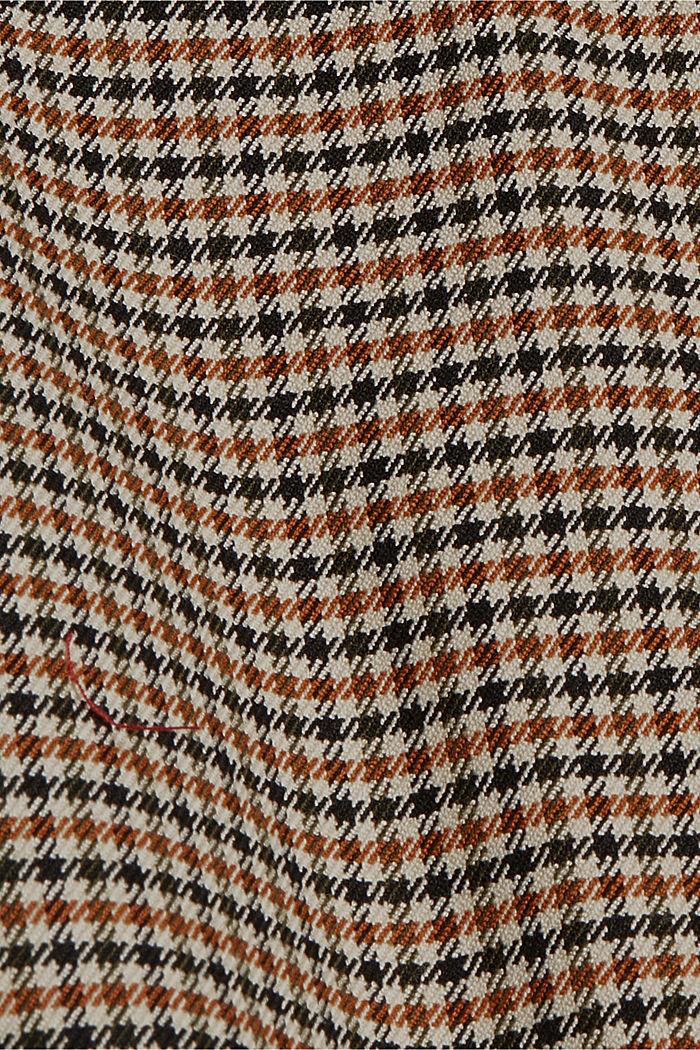 HOUNDSTOOTH Mix + Match Spencer blazer, KHAKI BEIGE, detail image number 4