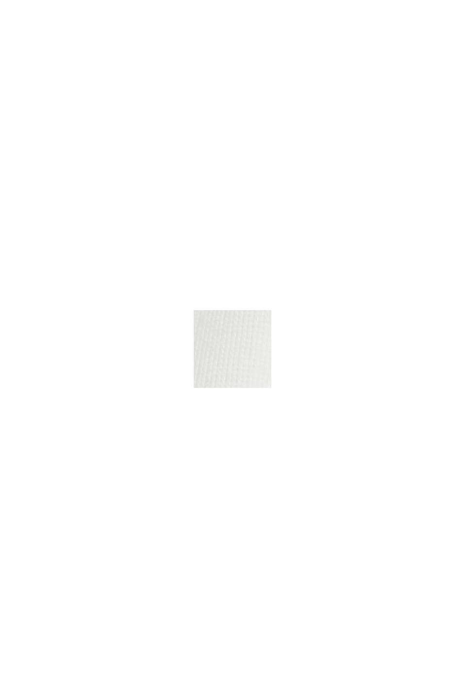 T-Shirt mit Schulterpolstern, LENZING™ ECOVERO™, OFF WHITE, swatch