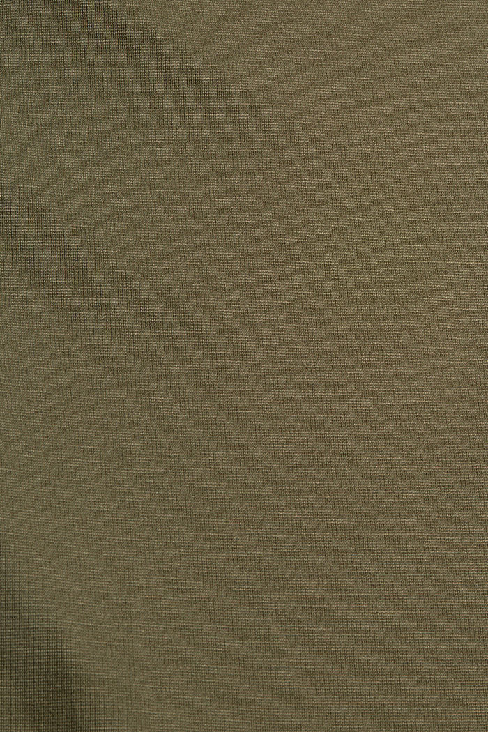 T-Shirts relaxed, DARK KHAKI, detail image number 4
