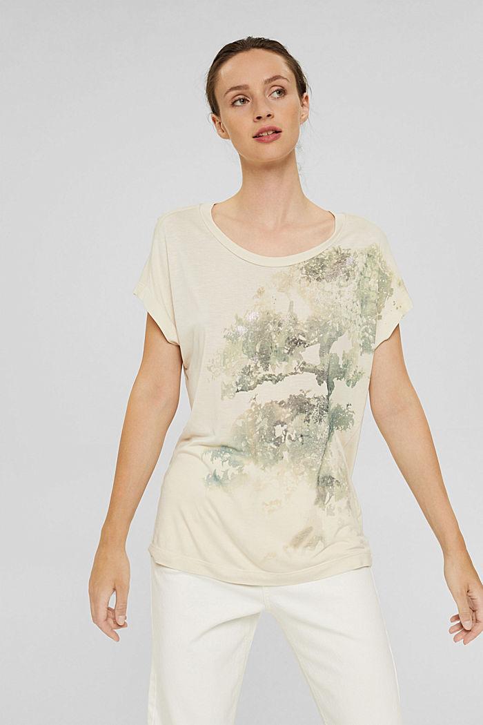 Tričko z materiálu LENZING™ ECOVERO™, ICE, detail image number 0
