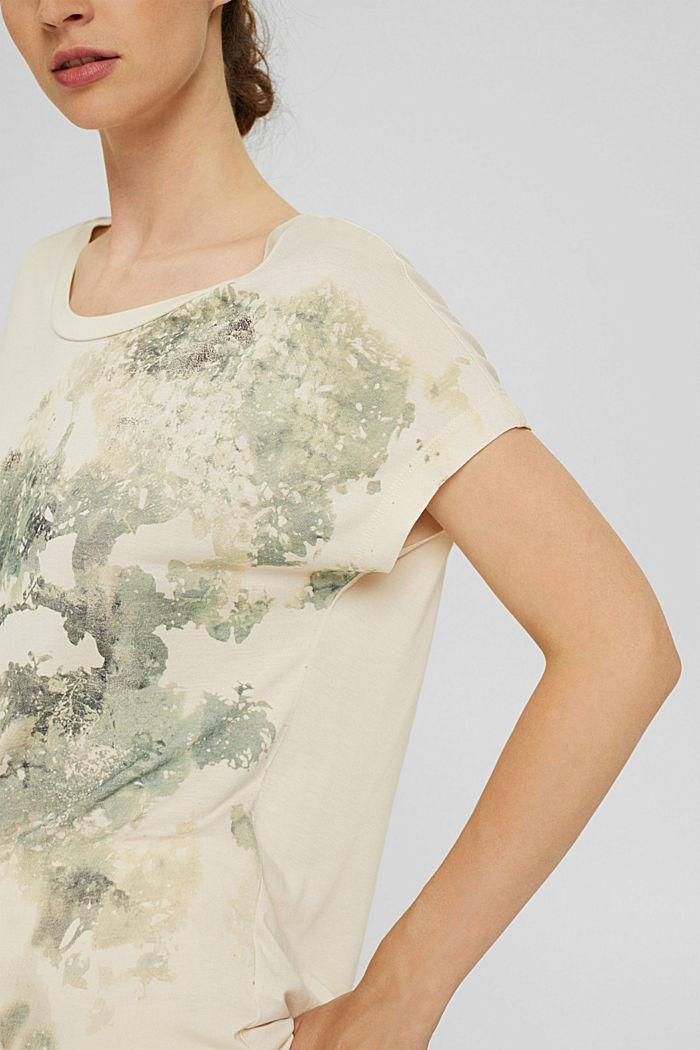 Tričko z materiálu LENZING™ ECOVERO™, ICE, detail image number 2