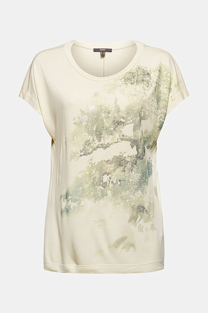 Tričko z materiálu LENZING™ ECOVERO™, ICE, detail image number 6