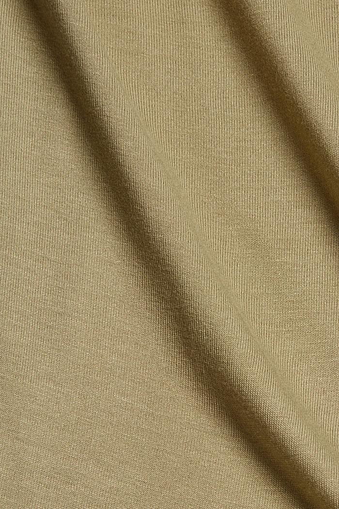 T-Shirt aus LENZING™ ECOVERO™, LIGHT KHAKI, detail image number 4