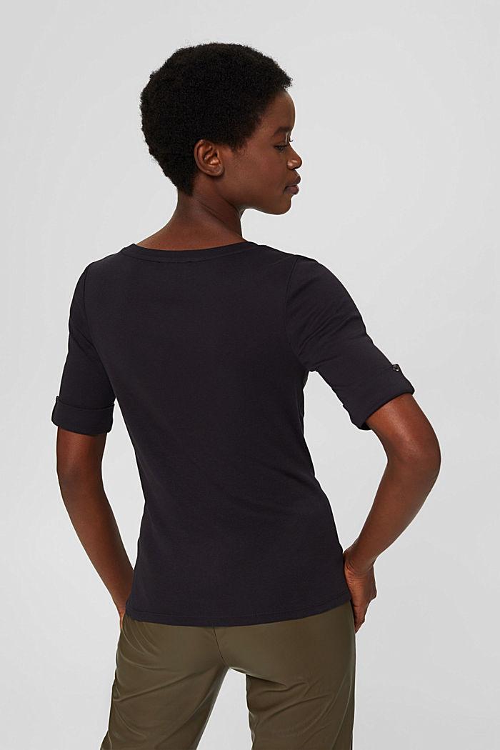 Tričko, 2 ks v balení, 100% bio bavlna, BLACK, detail image number 3