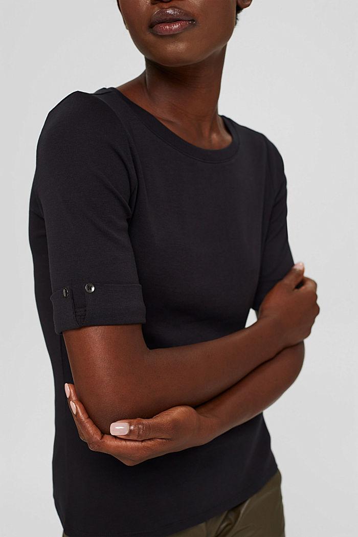 Tričko, 2 ks v balení, 100% bio bavlna, BLACK, detail image number 2