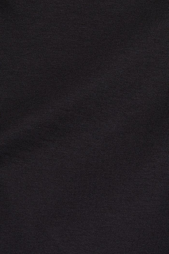 Tričko, 2 ks v balení, 100% bio bavlna, BLACK, detail image number 4