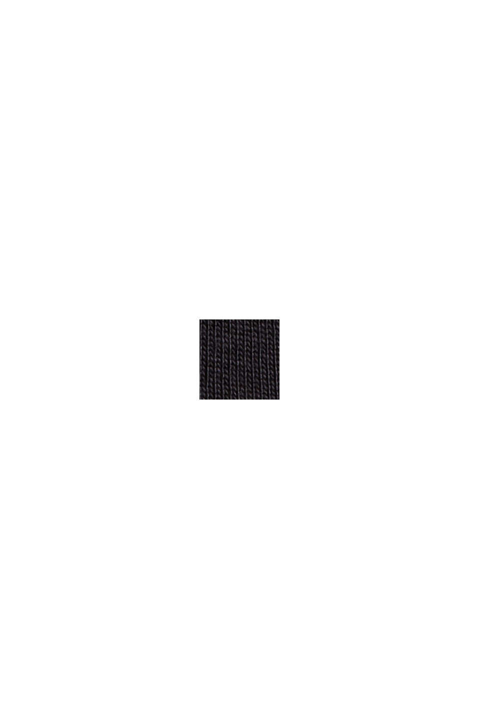 T-shirts i 2-pack av 100% ekologisk bomull, BLACK, swatch