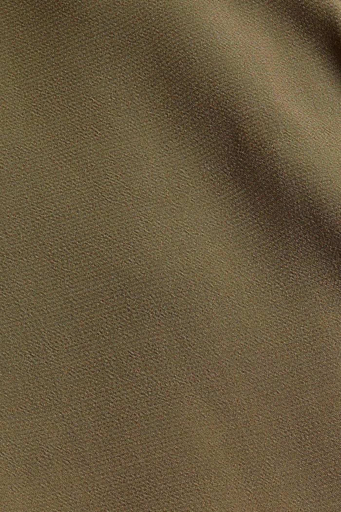 Overall mit Gürtel und LENZING™ ECOVERO™, DARK KHAKI, detail image number 4
