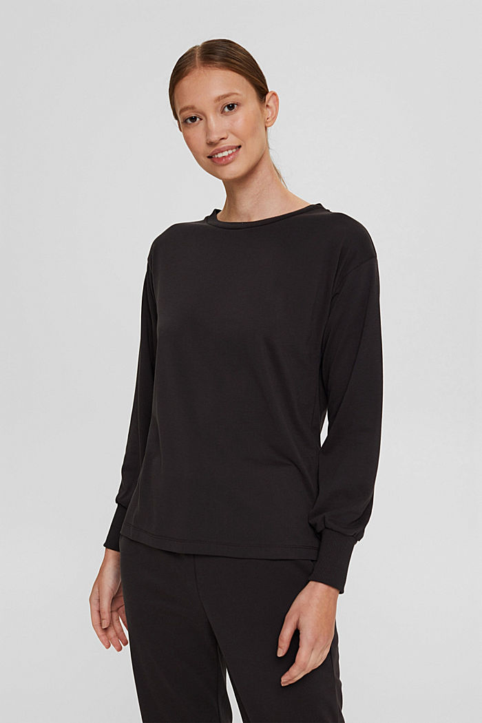 Jersey-Sweatshirt mit TENCEL™