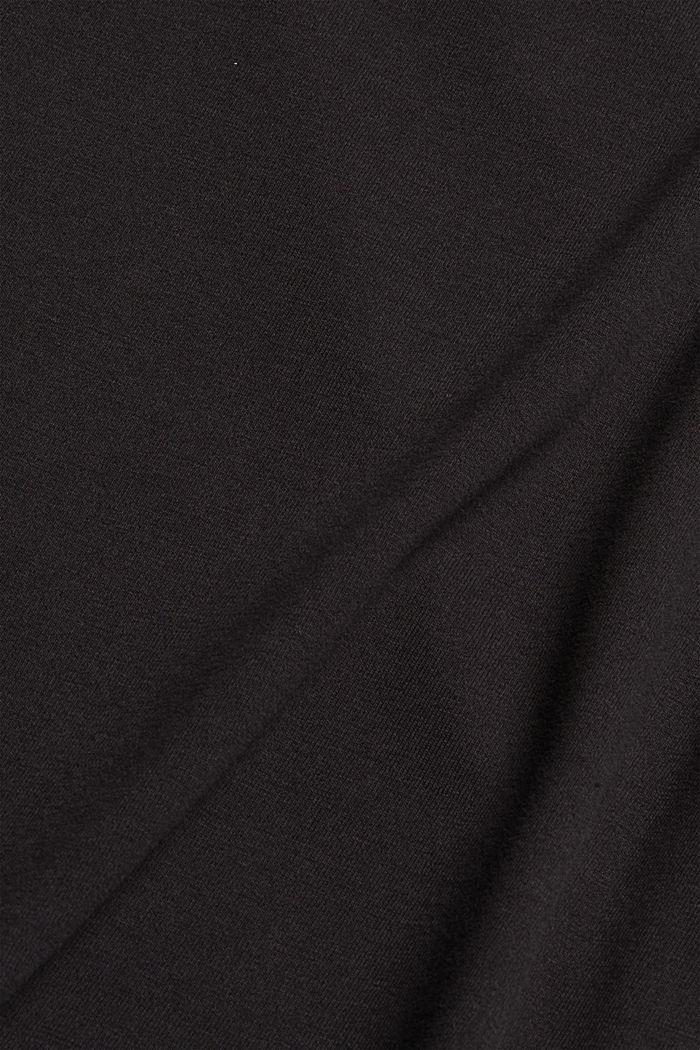 Jersey sweatshirt met TENCEL™, DARK GREY, detail image number 4
