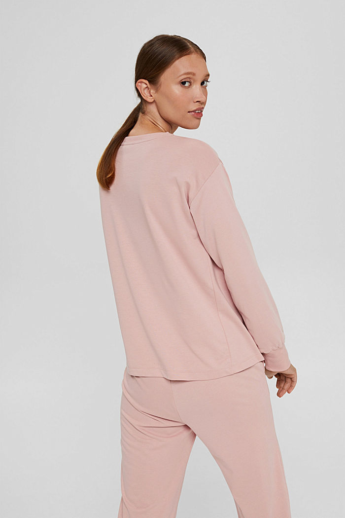 Jersey-Sweatshirt mit TENCEL™, OLD PINK, detail image number 3