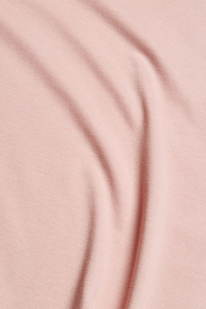Jersey-Sweatshirt mit TENCEL™, OLD PINK, detail image number 4