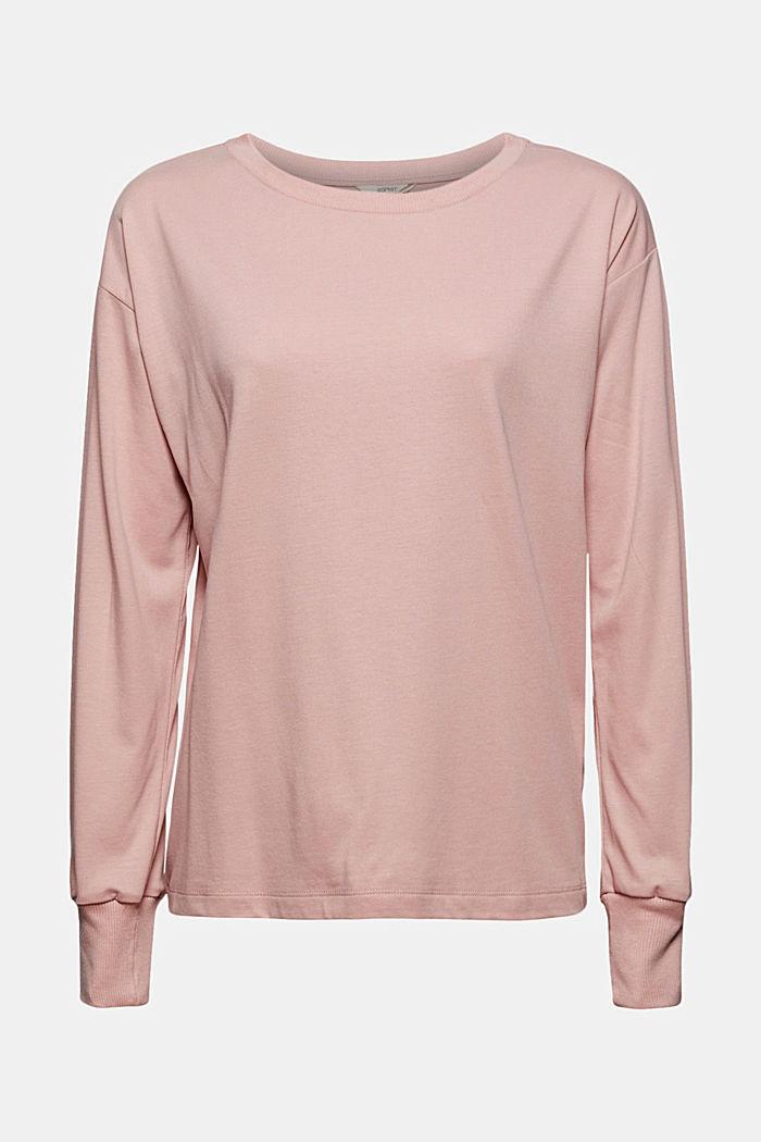 Jersey-Sweatshirt mit TENCEL™, OLD PINK, detail image number 5