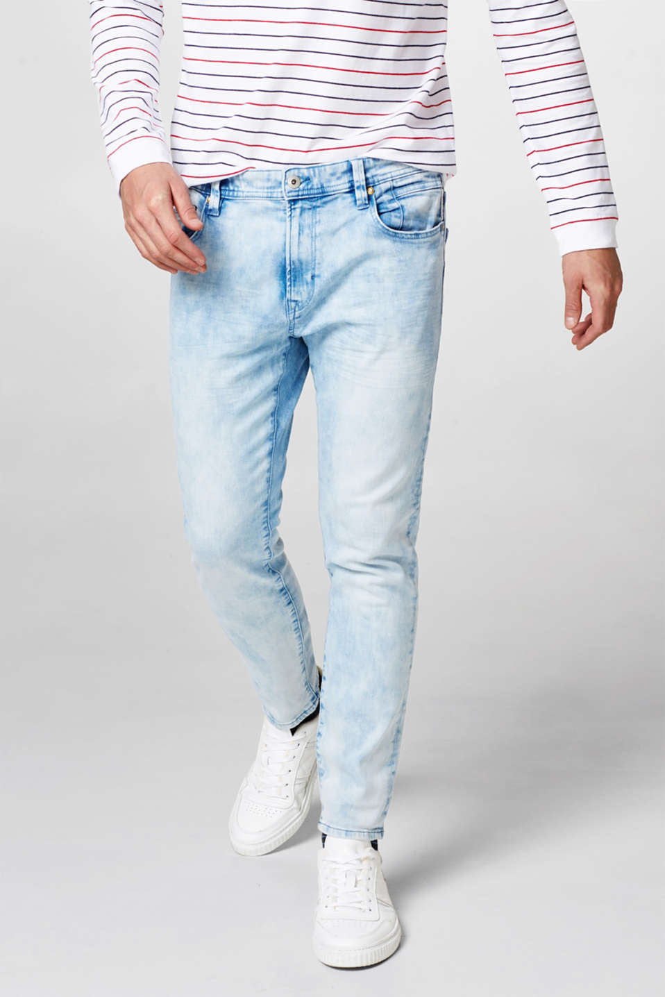edc - Jean stretch cool délavé