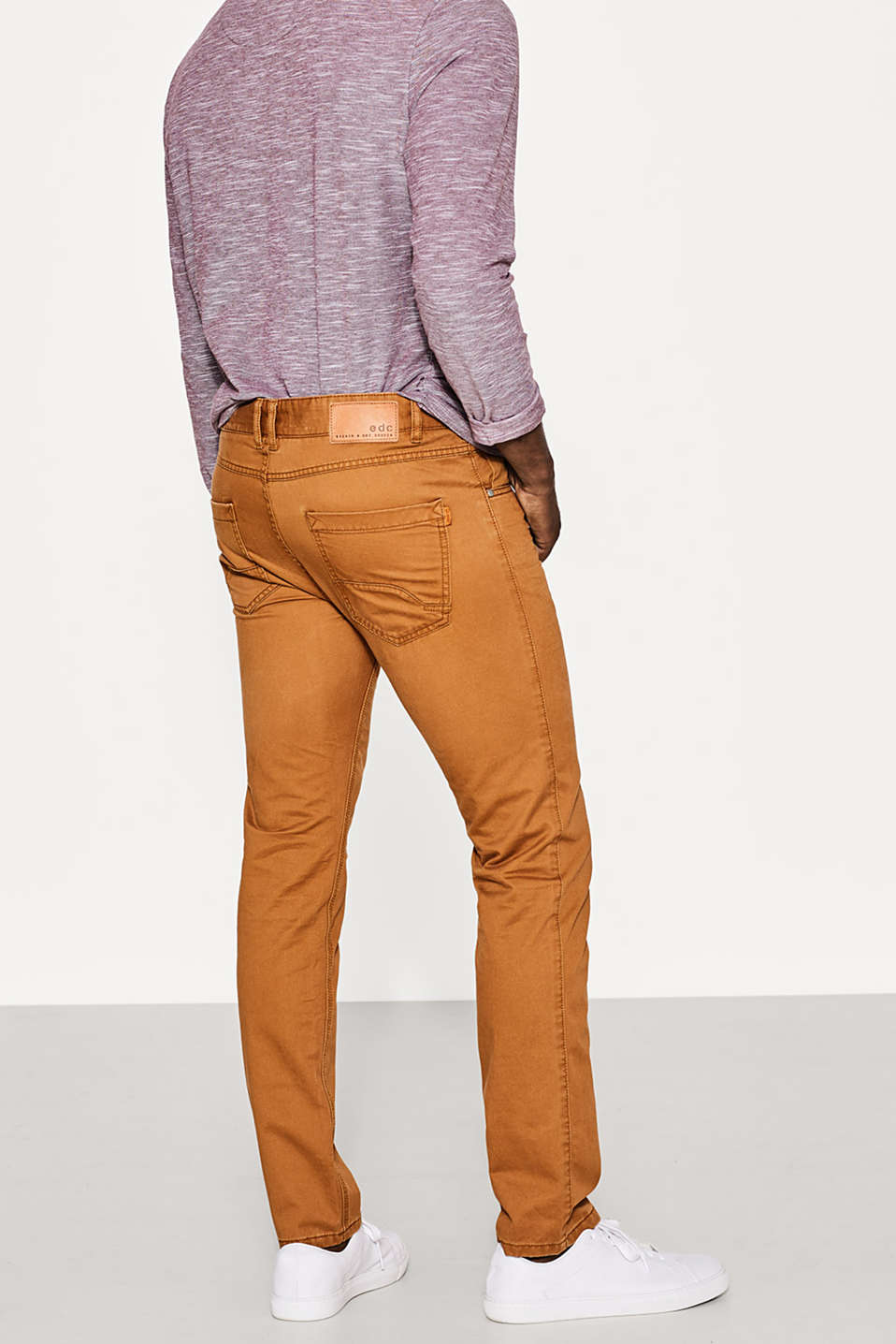 Five-pocket trousers in 100% cotton