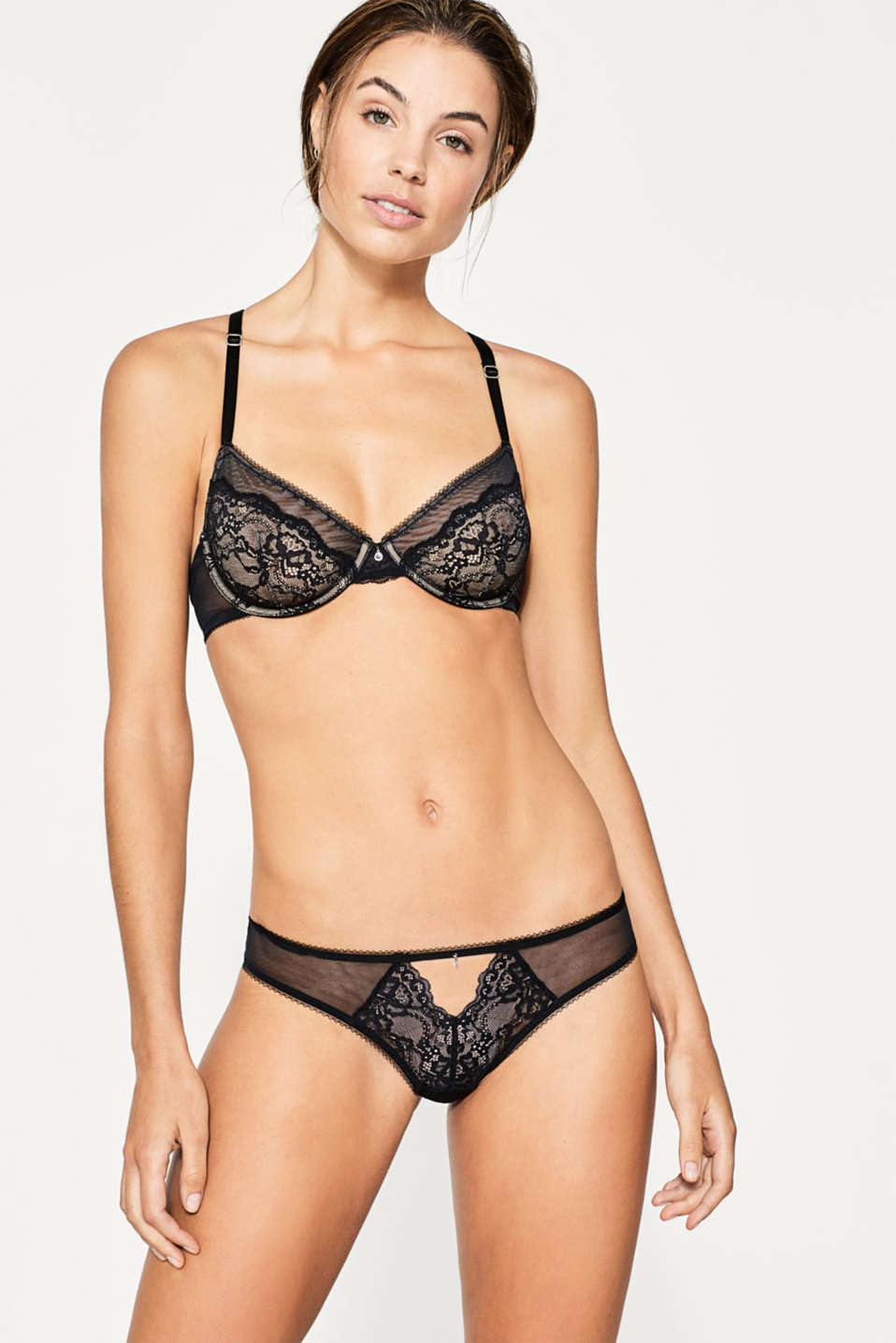 edc - Hipster briefs in tulle and lace
