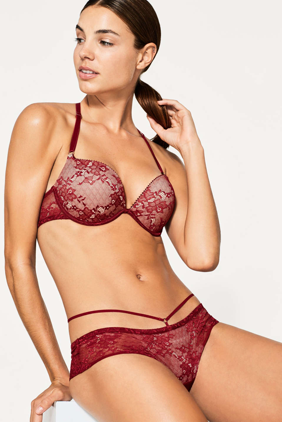 edc - SG push-up en dentelle