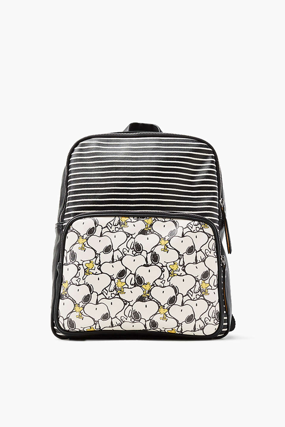 Esprit - Snoopy-Rucksack in Leder-Optik