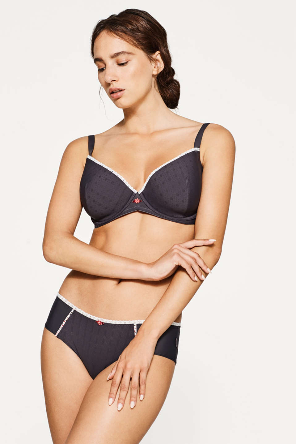 Esprit - Big cup bra with multiway straps