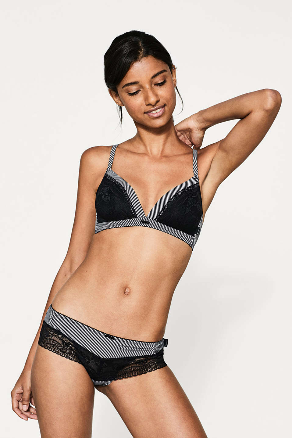 Esprit - Padded bikini top with adjustable straps