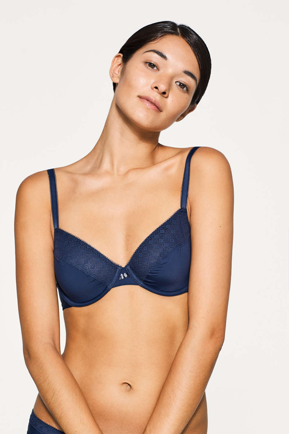 Esprit - Unpadded bra with multiway straps