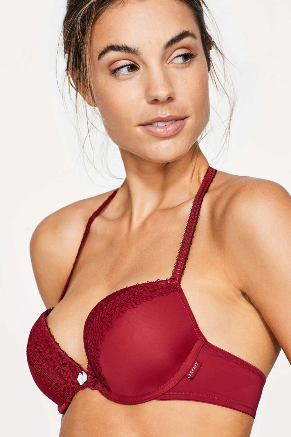 Esprit - Push-up bra with multi-way straps