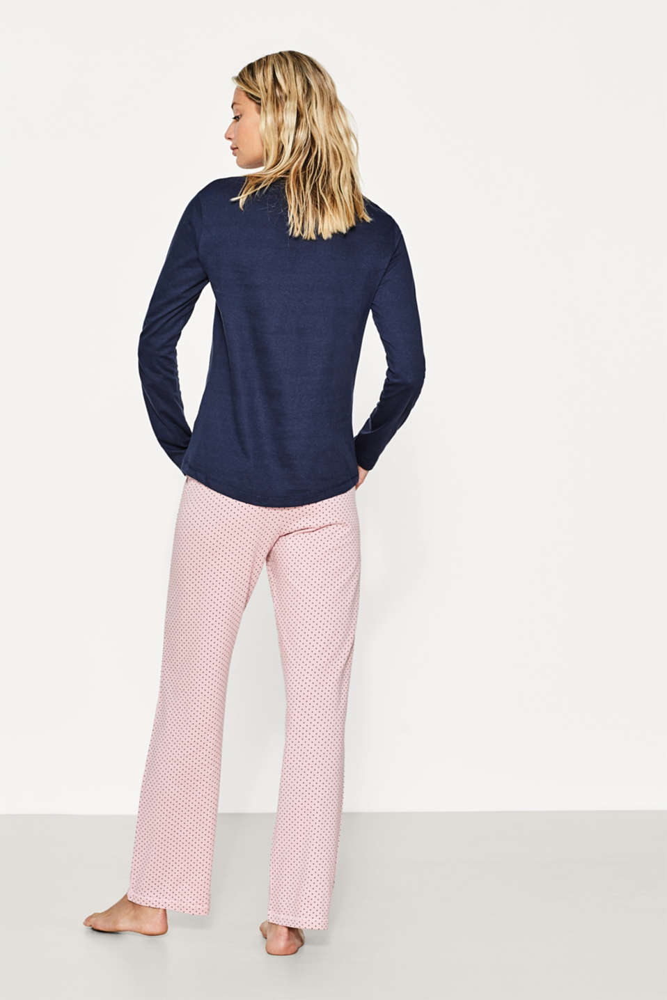 Pure cotton jersey pyjamas