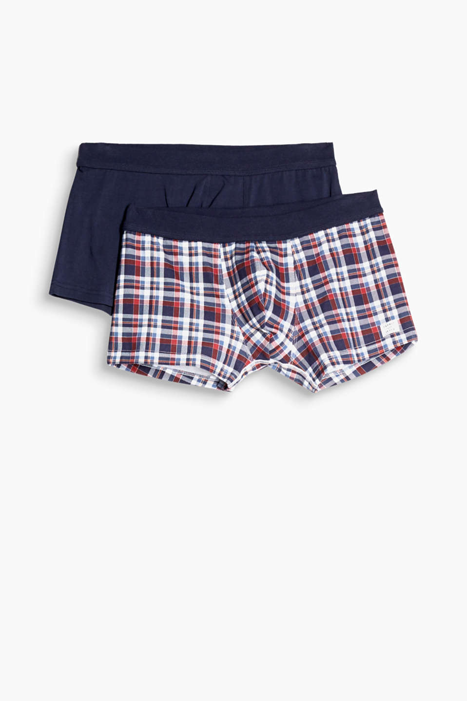 These hipster shorts in stretch cotton are comfortable, functional and trendy. the whole package!
