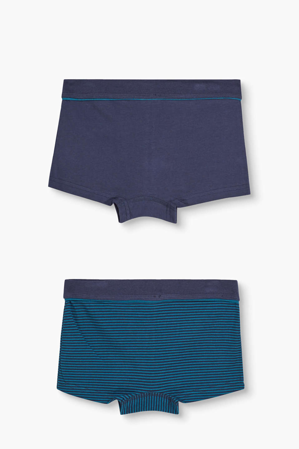 Double pack of striped boxer shorts