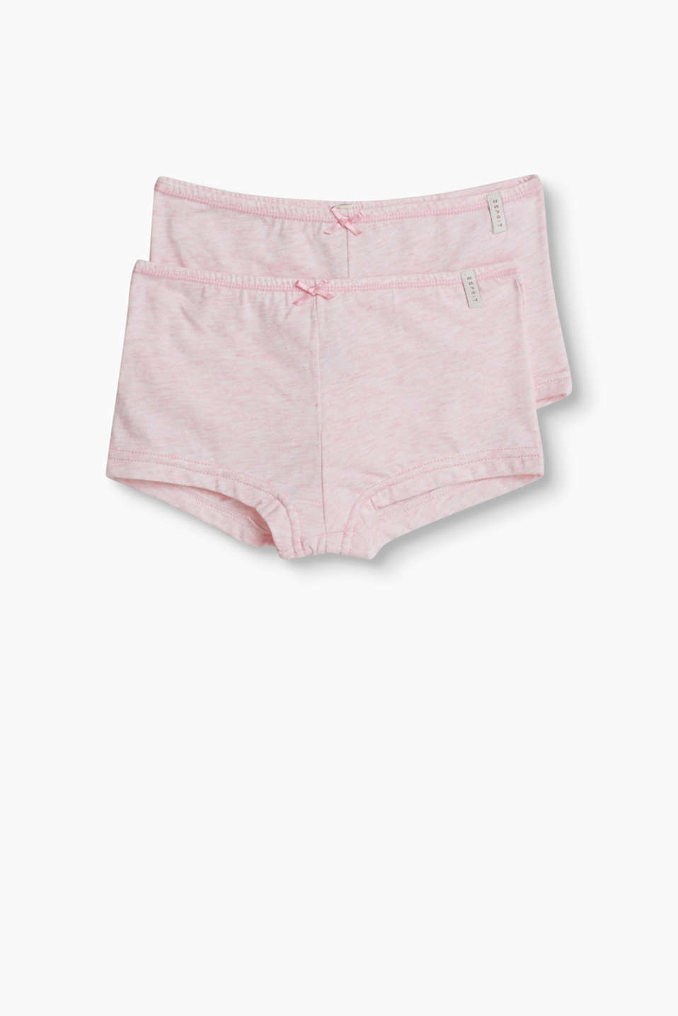 Esprit - Hot pants in a practical double pack