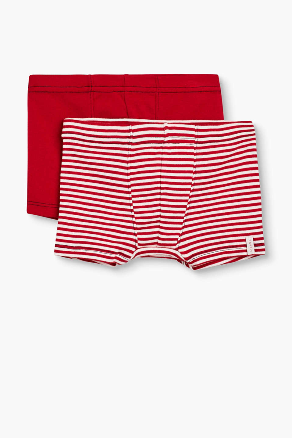 Esprit - Double pack of boxer shorts, 100% cotton