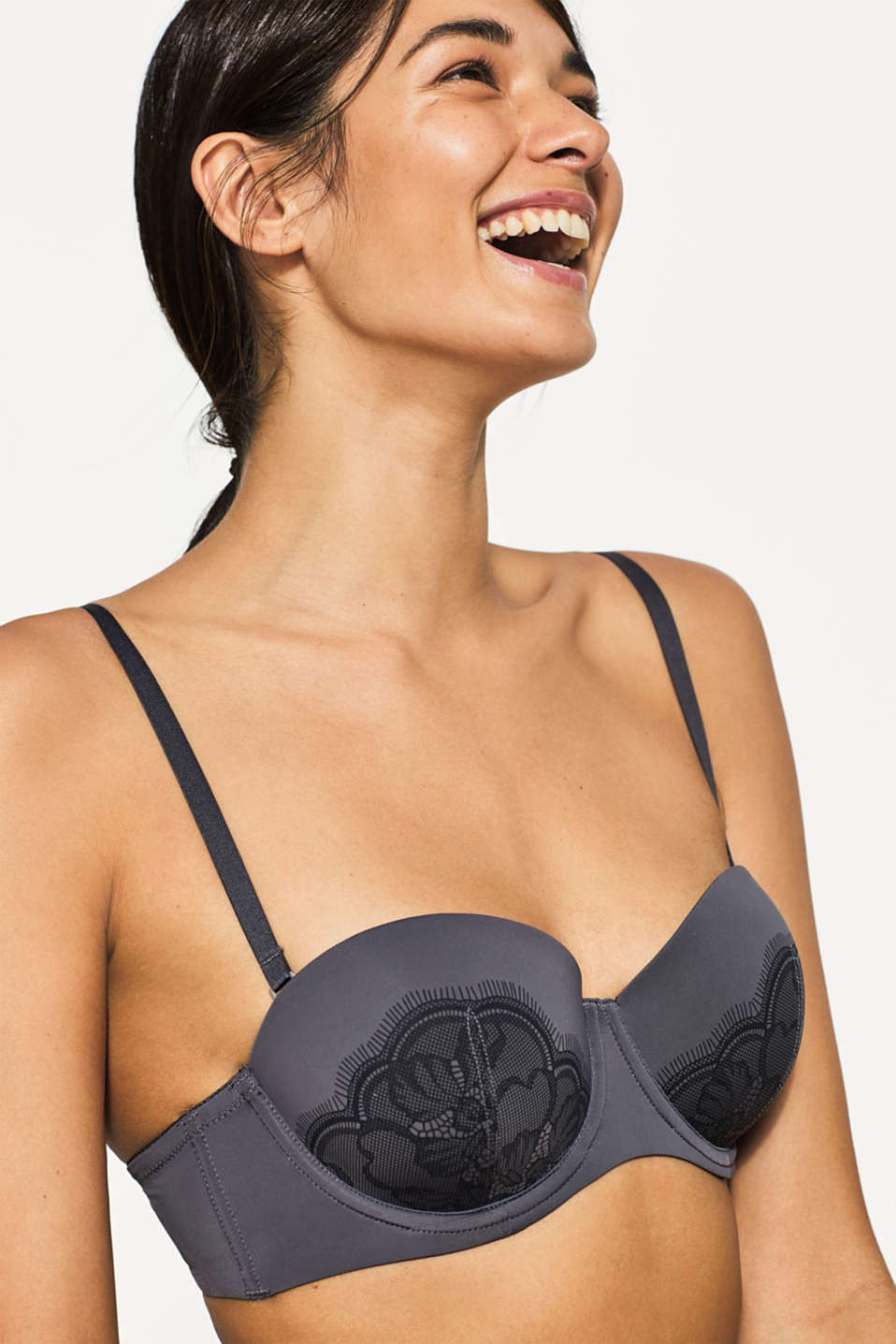 Esprit - NYE underwire bra with multi-way straps